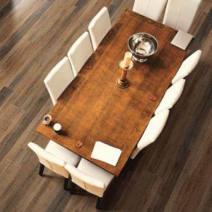 Dining room flooring | BFC Flooring Design Centre