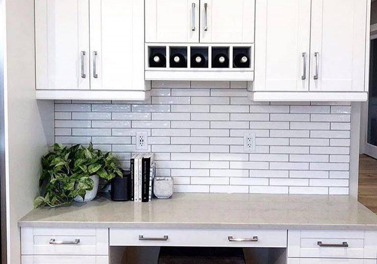 White cabinets | BFC Flooring Design Centre